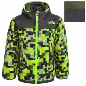 Boys North Face Reversible Jacket